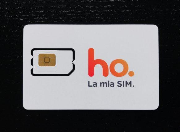 ho. mobile, impossibile acquistare online e ricevere sim a casa