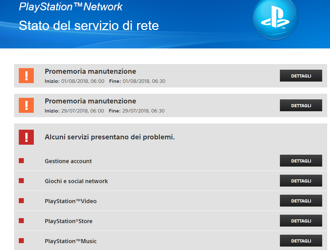 Fortnite: Server Offline. Impossibile giocare per manutenzione PSN su Playstation 4